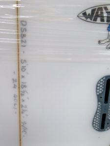 "#105821 新品 Mt Woodgee SAINT 5'10"""