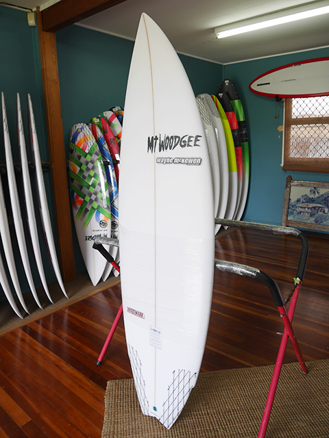 #106638 新品 Mt Woodgee TRADEMARK 5'10""