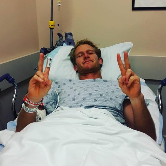 ビード入院直後
