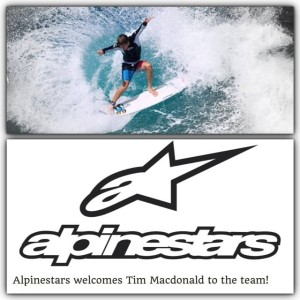 ティム・マクドナルド  Alpinestars