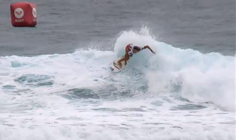 Paige Hareb (ページ ハーブ) Roxy pro 2010 Gold Coast Round1 Heat1