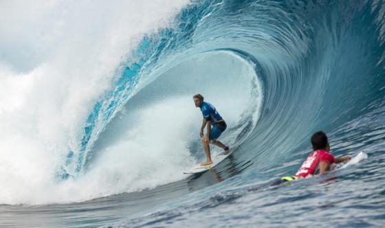 ビード・ダービッジ ラウンド5 Billabong Pro Tahiti 2014