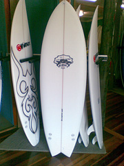 #83588 新品 Mt Woodgee RETORO FISHモデル 5'10