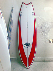#83590 新品 Mt Woodgee RETORO FISHモデル 5'10