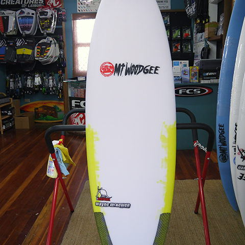 #96550 新品 Mt Woodgee AARDVARK STRINGERLESS 5'6″