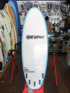 #98489 新品 Mt Woodgee AARDVARK STRINGERLESS 5'4″
