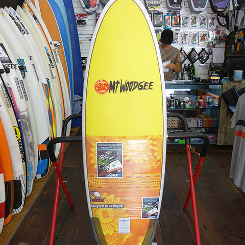 #98543 新品 Mt Woodgee AARDVARK STRINGERLESS 5'4″