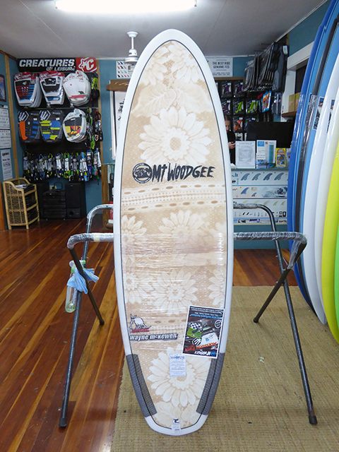 #98572 新品 Mt Woodgee AARDVARK STRINGERLESS 5'4″