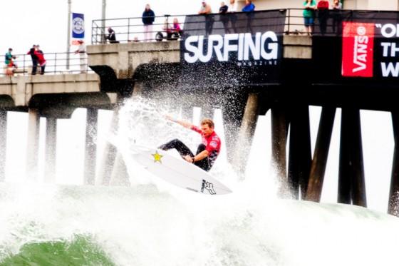 ビード・ダービッジ Vans US Open of Surfing 2013