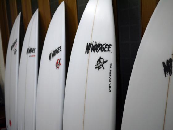 Mt Woodgee サーフボード Ian Byrne シェイプ