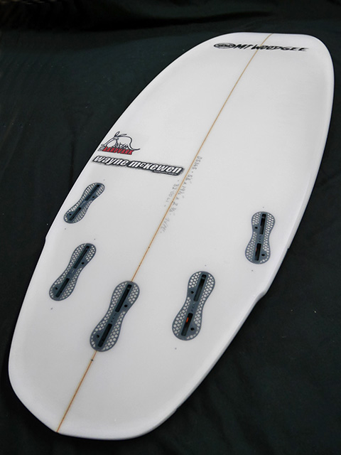 #aar44 中古 Mt Woodgee Surfboards 5'6 AARDVARK