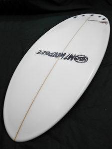 #aar44 中古 Mt Woodgee Surfboards 5'6 AARDVARK