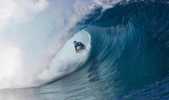 ビード・ダービッジ 10ポイント Billabong Pro Tahiti 2014