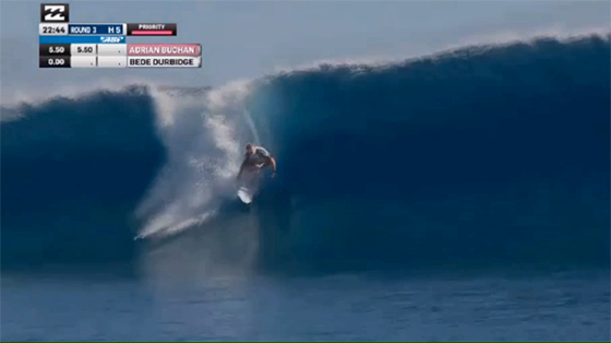 BILLABONG PRO TAHITI ROUND3 Bede Durbidge(ビード・ダービッジ)