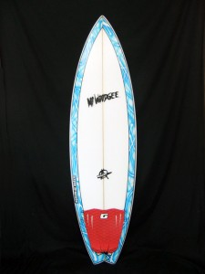 中古 Mt Woodgee Surfboards BULLET