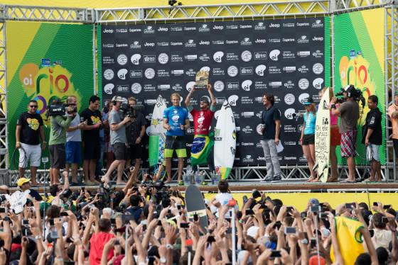 ビード・ダービッジ Oi Rio Pro 2015 準優勝