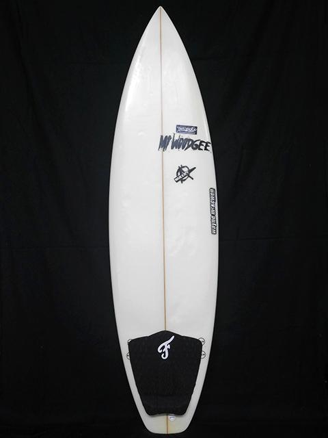 #bul051 中古 Mt Woodgee Surfboards 5′10 BULLET