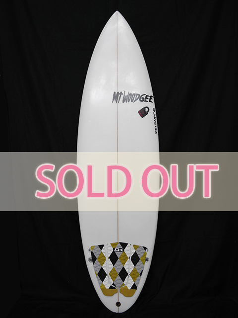 #com46 中古 Mt Woodgee Surfboards 5'9 COMBO