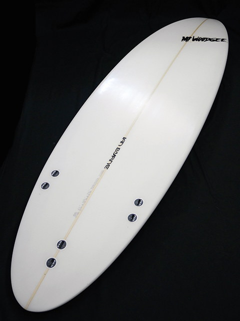 #std031 中古 Mt Woodgee Surfboards 6'4 STANDARD
