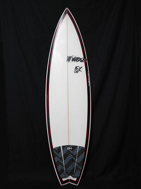 #bul029 中古 Mt Woodgee Surfboards 6' BULLET