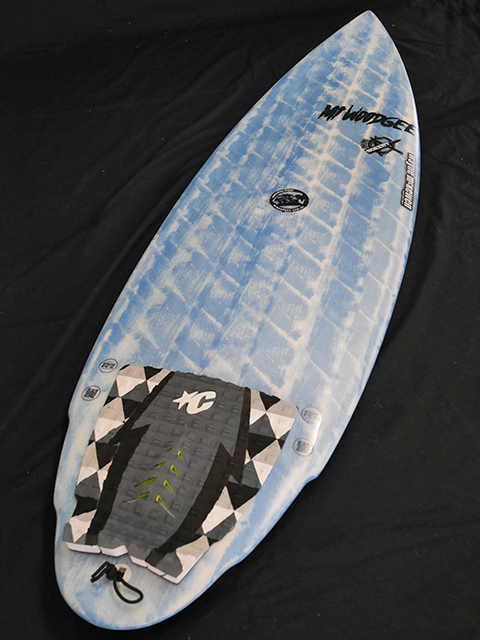 #mib036 中古 Mt Woodgee Surfboards 5'6 MINI BULLET