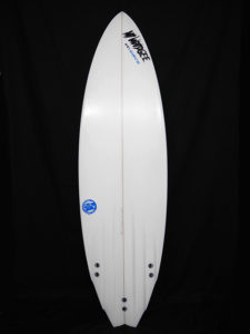 #6ch034 中古 Mt Woodgee Surfboards 6'1 6CHANNEL