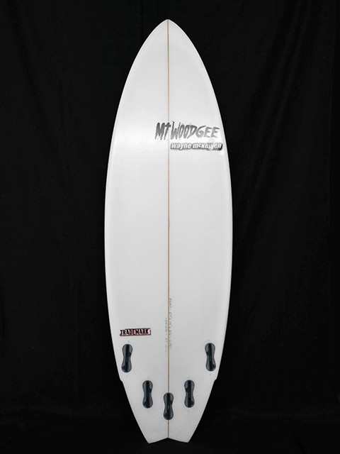 #trm026 中古 Mt Woodgee Surfboards 5'7 TRADEMARK