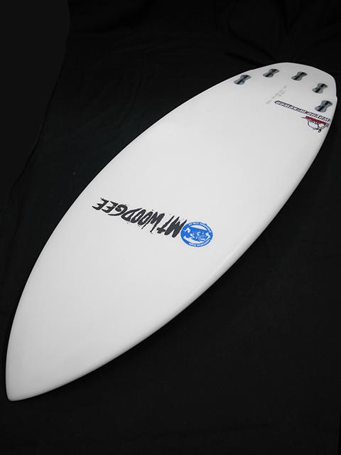 #aar035 中古 Mt Woodgee Surfboards 5'6 AARDVARK