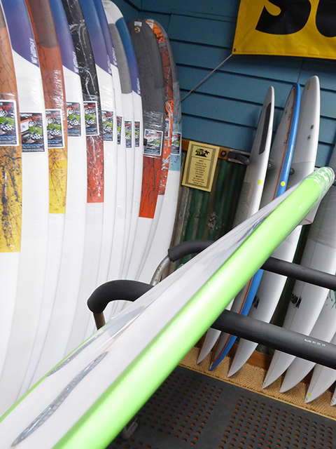 Mt Woodgee Surfboards SAINTモデル