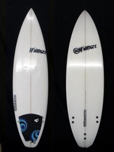 Mt Woodgee Surfboards スタンダードモデル 5'10