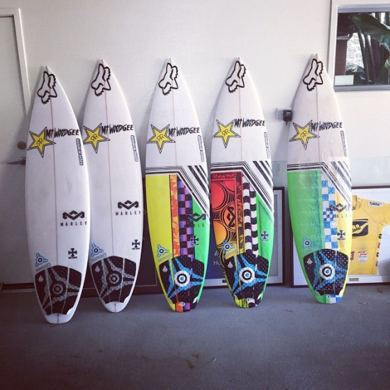 Mt Woodgee Surfboards SAINT 6'1