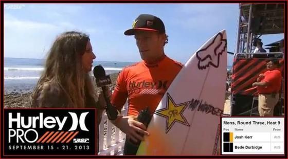 Hurley Pro 2013 ラウンド2ビードWIN