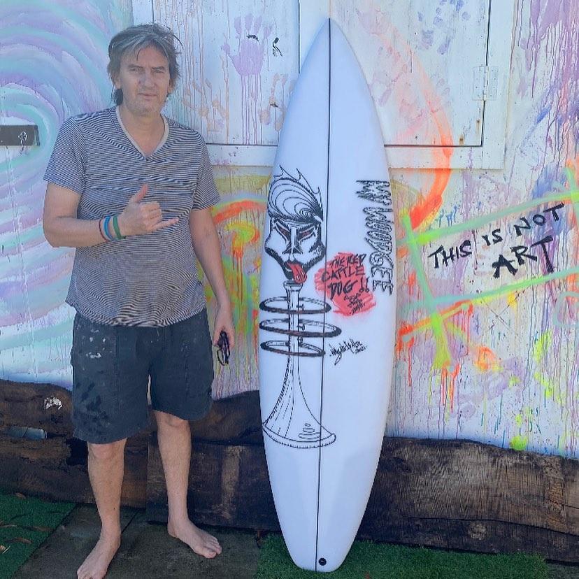 Mt Woodgee Surfboards DURBO33 モデル