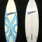 "Mt Woodgee Surfboards Standard 5'10"" #91513"