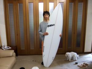 Mt Woodgee Surfboards STANDARDモデル