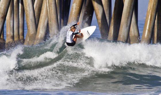 CT #9 Vans US Open of Surfing - Women's CT Mt woodgee ライダー ページ・ハーブ