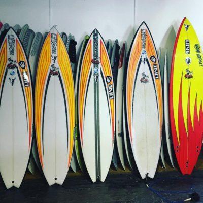 ゲーリー・エルカートン Mt Woodgee Surfboards