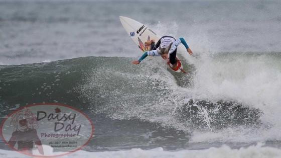 Paige Hareb (ペイジ・ハーブ)TSB Bank NZ Surf Festival in Taranaki 2013