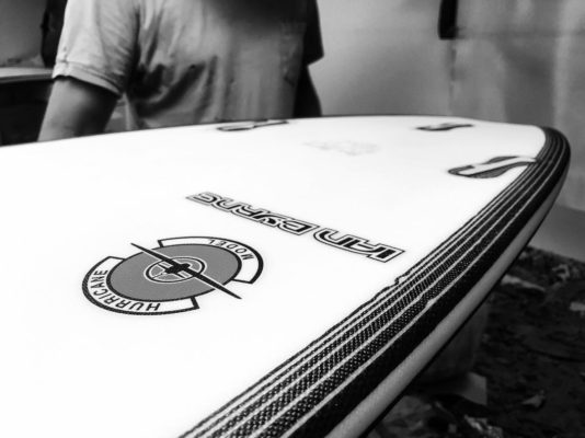 Mt woodgee surfboards Hurricane Model