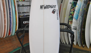 Mt Woodgee Surfboards RETORO FISH 5'9″