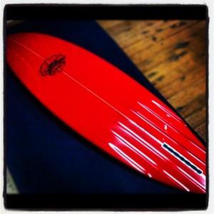 Mt Woodgee Surfboards RETRO SINGLE 6 CHANNEL