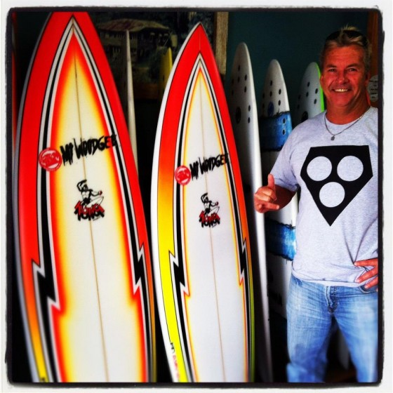 Mt Woodgee Surfdboards KONGモデル