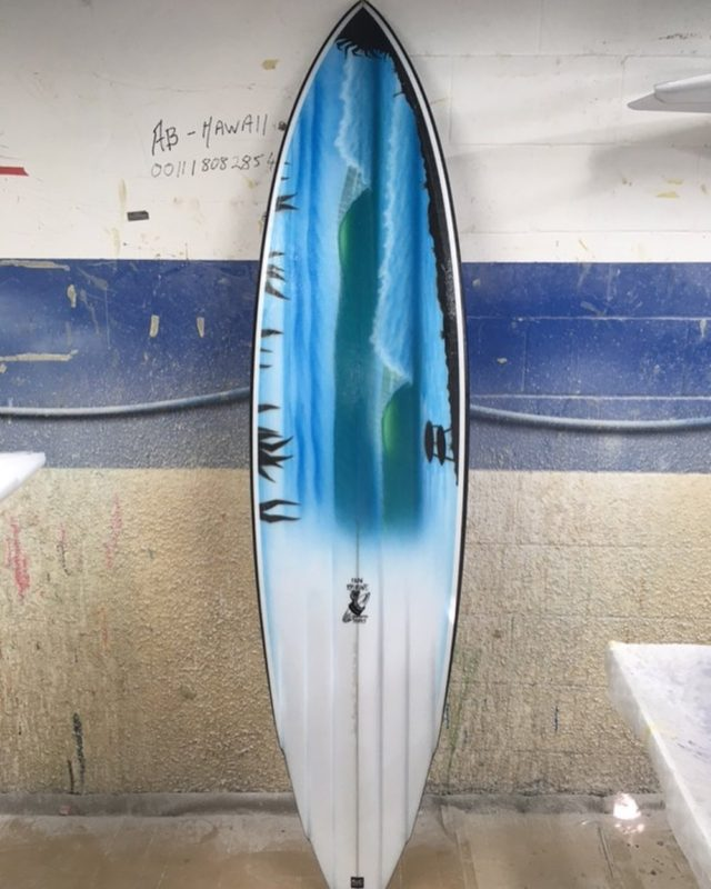 イアン・バーン 2020 Burleigh Boardrdiders Single Fin Festival
