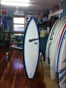 #83843 新品 Mt Woodgee BULLET Stringerlessモデル 5'10""