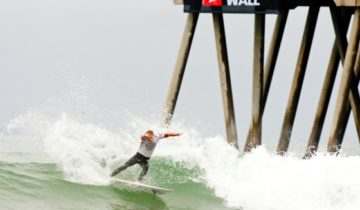 Vans US Open of Surfing ビード3位に