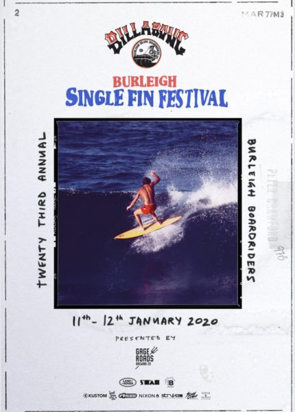 2020 Burleigh Boardrdiders Single Fin Festival