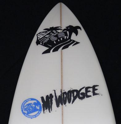 Mt woodgee surf boards DURBO モデル