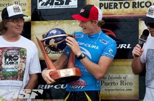 Rip Curl Pro Search Puerto Rico ライダービード・ダービッジ