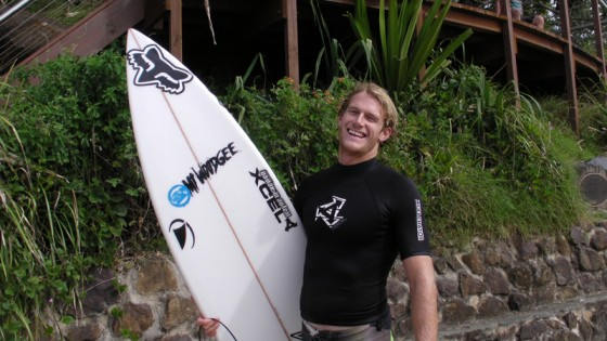 Mt Woodgee Surfboards ライダー Bede Durbidge(ビード・ダービッジ)