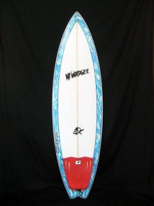 中古 Mt Woodgee Surfboards BULLET